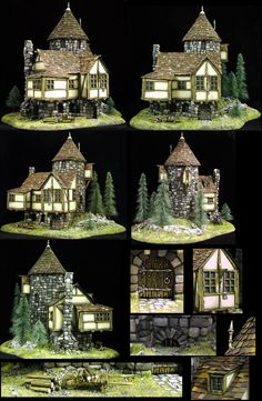 Tower House by Twitch on Coolminiornot