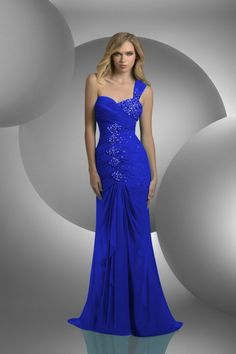 Chic And Sweet Sleeveless Floor-Length Cheap Long Beaded Prom Dresses Online