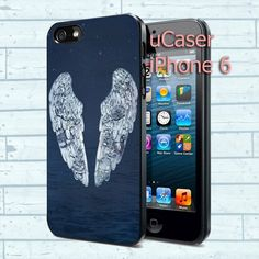 """Coldplay Ghost Stories Logo For iPhone 6 4.7"""" screen Black Case"""