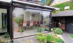 #Transparentrollo als #Windschutz & #Wetterschutz in transparenter Ausführung, vom Fenster- Rollladen- und Sonnenschutz Experten Mester aus #Bielefeld, für OWL und Umgebung.
