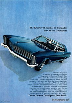 1965 Buick Riviera - as close to a custom as a stock car ever gets!