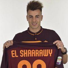 "62 mentions J'aime, 1 commentaires - Faraone Di Roma ❤️💛 (@faraonediroma_22) sur Instagram: ""2 anni a Roma 💛❤️! @stewel92 #elshaarawy #asroma #romanisti #january2016 #calcio #faraone #el92"""