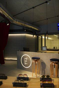 """One day at Clerigos In, an optical concept store at Oporto-clerigosin-store-lighting"" Oporto, Portugal, @BRABBU"