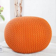Leeds, Outdoor Furniture, Outdoor Decor, Ottoman, Orange, Home Decor, Decoration Home, Room Decor, Interior Decorating