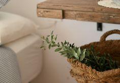 Dormitorio, estilo mediterráneo, low cost, ideas para decorar, proyectos de bricolaje, DIY, craft ideas, reciclaje, Ikea hackers, olivo,Tarragona