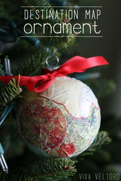 DIY destination map
