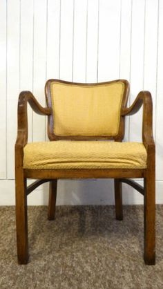 Antique french louis style arm chair / bedroom / desk