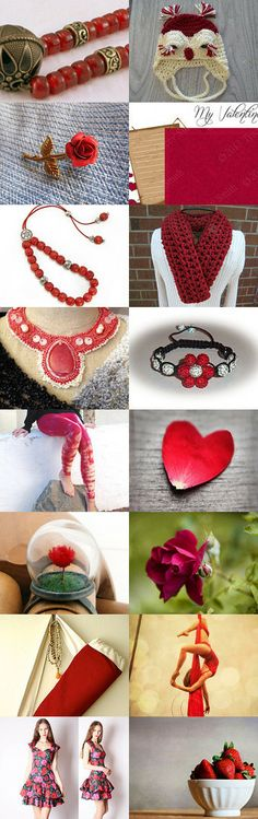 Roses are red by Samantha Miller on Etsy--Pinned with TreasuryPin.com