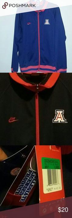 NIKE COLLEGIATE JACKET Gorgeous Arizona Stuns track jacket,brand new with tags Nike Jackets & Coats Bomber & Varsity