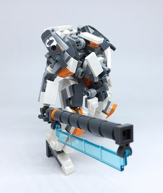 Lego Mech !! More robot,weapon,mecha are on the album.