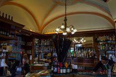En interior del Caffè Vittorio Veneto de Turín