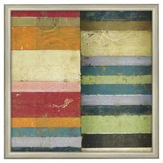 "Bring gallery-worthy appeal to your home with this lovely wall art, perfect for your living room, den, or master suite.   Product: Wall artConstruction Material: Wood, glass and acid-free paperColor: Beige frameDimensions: Unframed: 12"" H x 12"" WFramed: 13"" H x 13"" W"