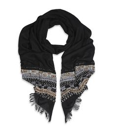 Balmain beaded scarf