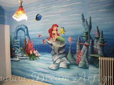 'Αριελ, ζωγραφική στον τοίχο