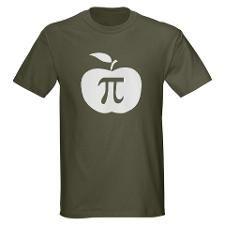 Apple Pi. http://www.cafepress.com/MegaShark/9506378