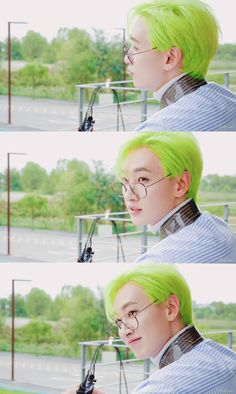 Eunhyuk, Super Junior T, Rapper, Lee Hyukjae, Younique, Jerry Lee, Dancing King, Last Man Standing, Green Hair