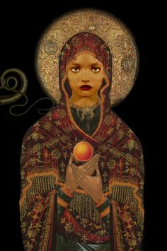 ☆ The Madonna of the Apricot and the Snake :→: Artist Ulla Karttunen ☆