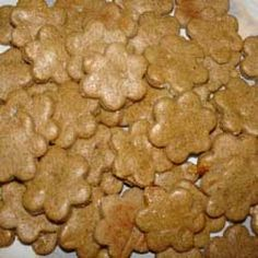 Homemade dog treat recipes--banana Ask tells what foods are OK for dogs!