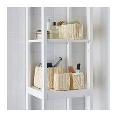 NORDRANA Korb 4er-Set - elfenbeinweiß, - - IKEA