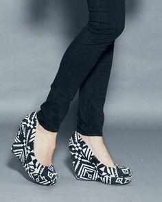 I like these shoes.