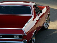 El Camino-I want one of these one day...