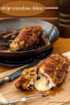 Low Carb Soup Recipes, Dutch Recipes, Italian Recipes, Great Recipes, Cooking Recipes, Healthy Recipes, Lunch Snacks, Rabbit Food, Cordon Bleu