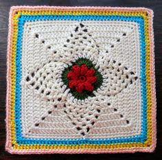 Free granny square crochet pattern - Pineapple Dreams