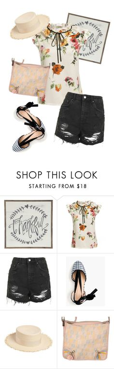 """""""bag"""" by masayuki4499 ❤ liked on Polyvore featuring Topshop, J.Crew, Federica Moretti and Fendi"""