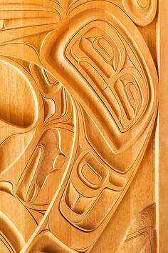Custom Carved Doors by Phil Gray 2010 Northwest Coast Native Art | Douglas Reynolds Gallery