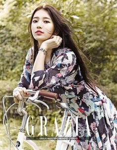 Miss A's Suzy Covers GRAZIA's September 2014 Issue | Couch Kimchi