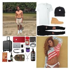 """""""""""Every girl crazy about a sharp dress man""""-Nick"""" by the-crazy-anons ❤ liked on Polyvore featuring Clarks Originals, AMIRI, Victorinox Swiss Army, Ralph Lauren, Vance Co., Old Spice, Dolce&Gabbana, Sexy Hair, Renpure and Reef"""