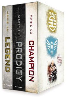 Legend Trilogy Boxed Set/Marie Lu. Such a good trilogy!