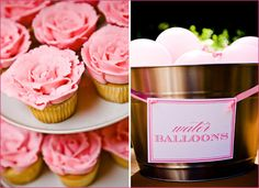@Kristine Rogers great ideas for a pink party, with printables