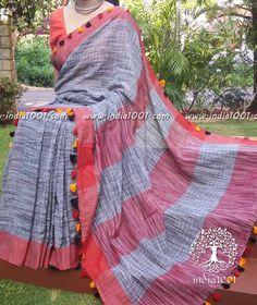 Beautiful Woven Bengal Cotton Saree