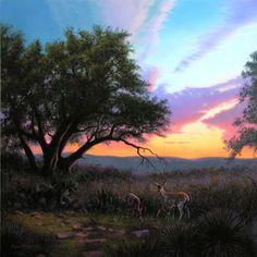 New Beginnings (painting by artist Layne Johnson)