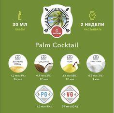 "600 Likes, 6 Comments - ArturKam Vape (@vapearturkam) on Instagram: ""Пальмовый коктейль от @vapebombruPalm Cocktail Очередное путешествие в страну грёз, где вы…"""