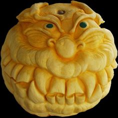 Now THAT'S a pumpkin carving! (share your best pumpkin pics here ...