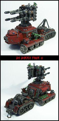 Flak Tank, Goblins, Greenskins, Grots, Hydra, Imperial Guard, Looted, Orks, Rebelz, Wagon