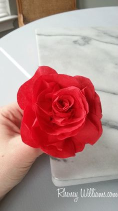Paper Napkin Roses Tutorial! Traditional with a Twist: Hosting the Perfect Southern Style Kentucky Derby 'Run for the Roses' Party