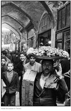 Inge Morath - Inside the bazaar, Tehran, Iran. 1956. S)