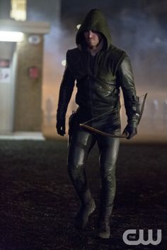 """Arrow -- """"Sacrifice"""" -- Image AR123b_6175b -- Pictured: Stephen Amell as The Arrow -- Photo: Jack Rowand /The CW --  2013 The CW Network. All Rights Reserved"""