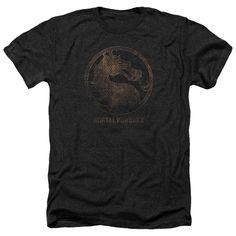 Mortal Kombat X/Metal Seal Adult Heather T-Shirt in