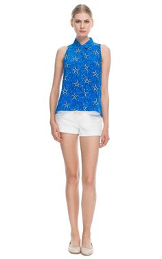 Equipment  Electric Blue Galactic Star Mina Blouse