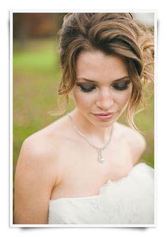 smoky eyes and pale lips  Soft sexy wedding   #PFBeautyBuzz