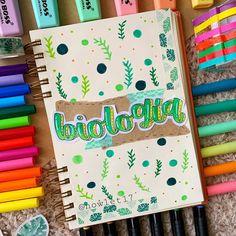 Bullet Journal Notes, Bullet Journal School, Bullet Journal Ideas Pages, Bullet Journal Inspiration, Cute Notes, Pretty Notes, Notebook Art, Notebook Covers, Stabilo Boss