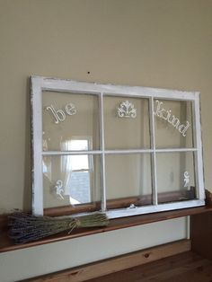 Vintage Window Sign by OctoberBloomShop on Etsy