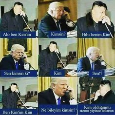 Funny Pictures Of Donald Trump vs. Kim Jong Un Meaningful Sentences, Good Sentences, Funny Shit, Funny Jokes, Memes Humor, Funny Photos, Funny Images, Ridiculous Pictures, Donald Trump Pictures