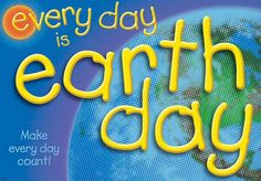 Earth Day Blog with a list of links to help being children and the earth together