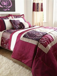 Catherine Lansfield Patchwork Border Duvet Cover and Pillowcase Set | very.co.uk