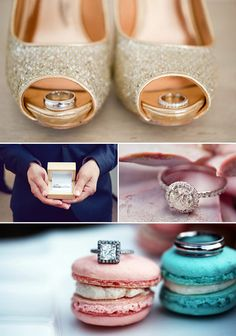 Ring photos with macaroons?